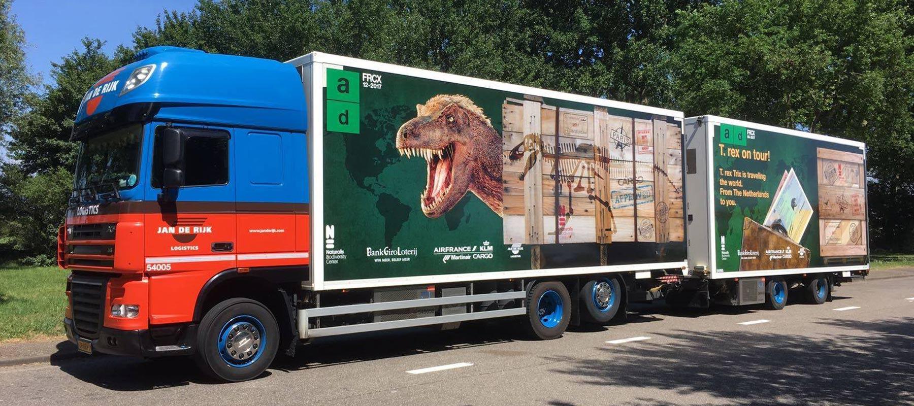 Jan de Rijk Logistics is a leading European logistics
