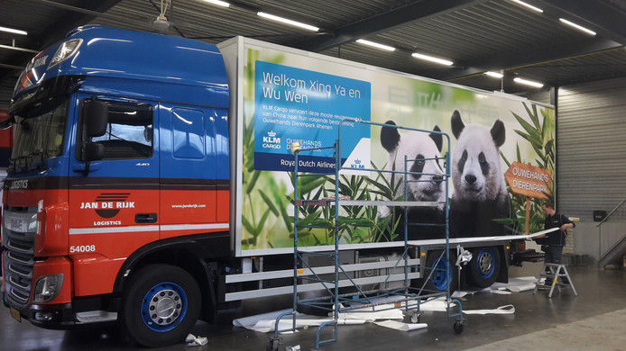 Jan de Rijk Logistics panda's