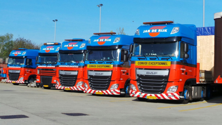 Equipment of Jan de Rijk Logistics