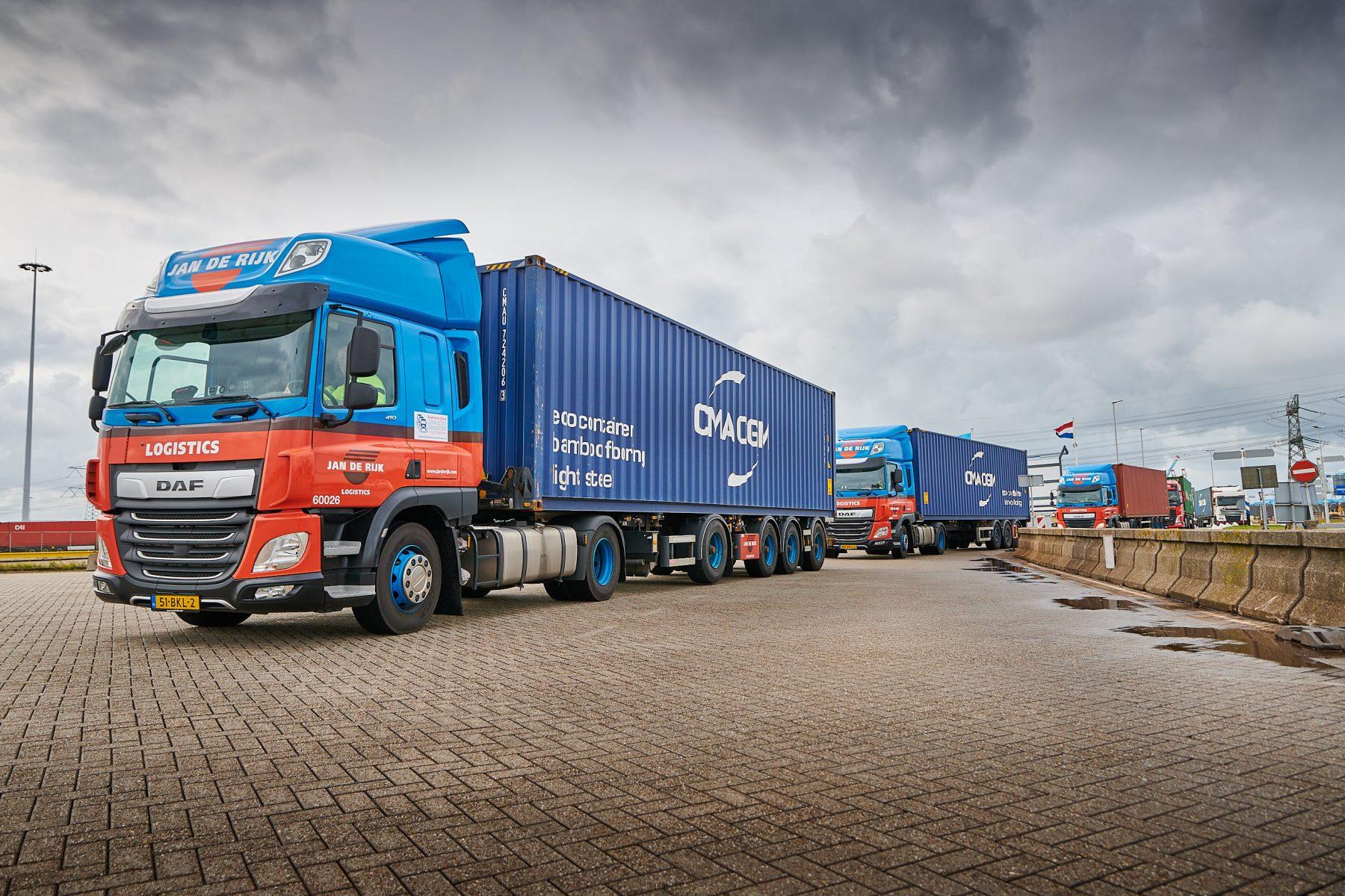 trucks platooning