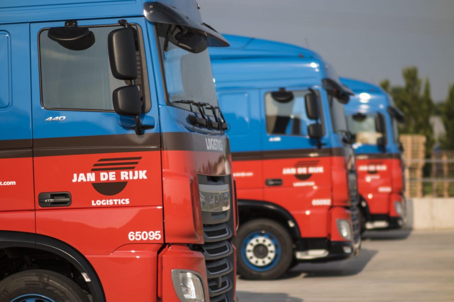 Trucks Jan de Rijk Logistics