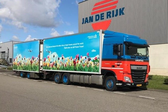 Jan de Rijk Logistics Keukenhof