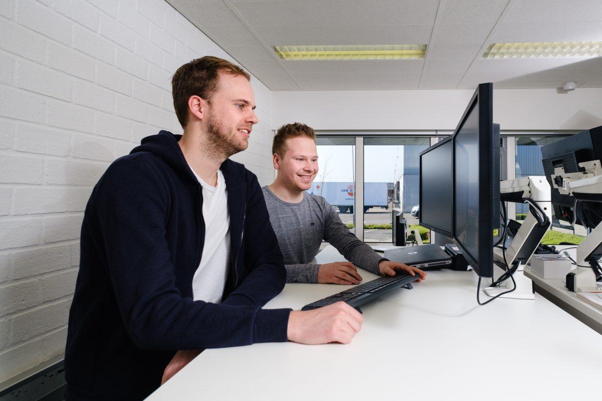 Working at Jan de Rijk Logistics