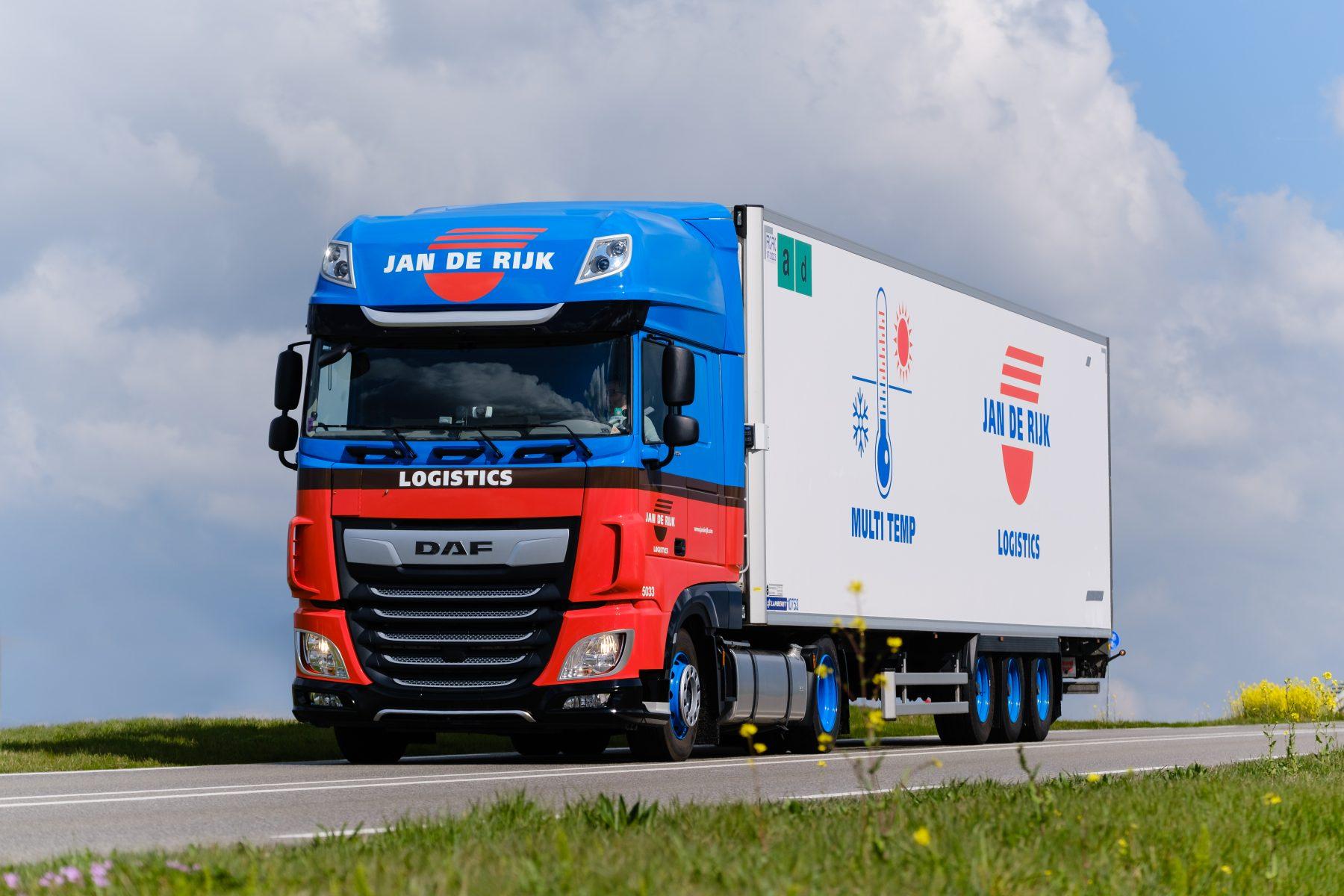 Jan de Rijk Logistics truck