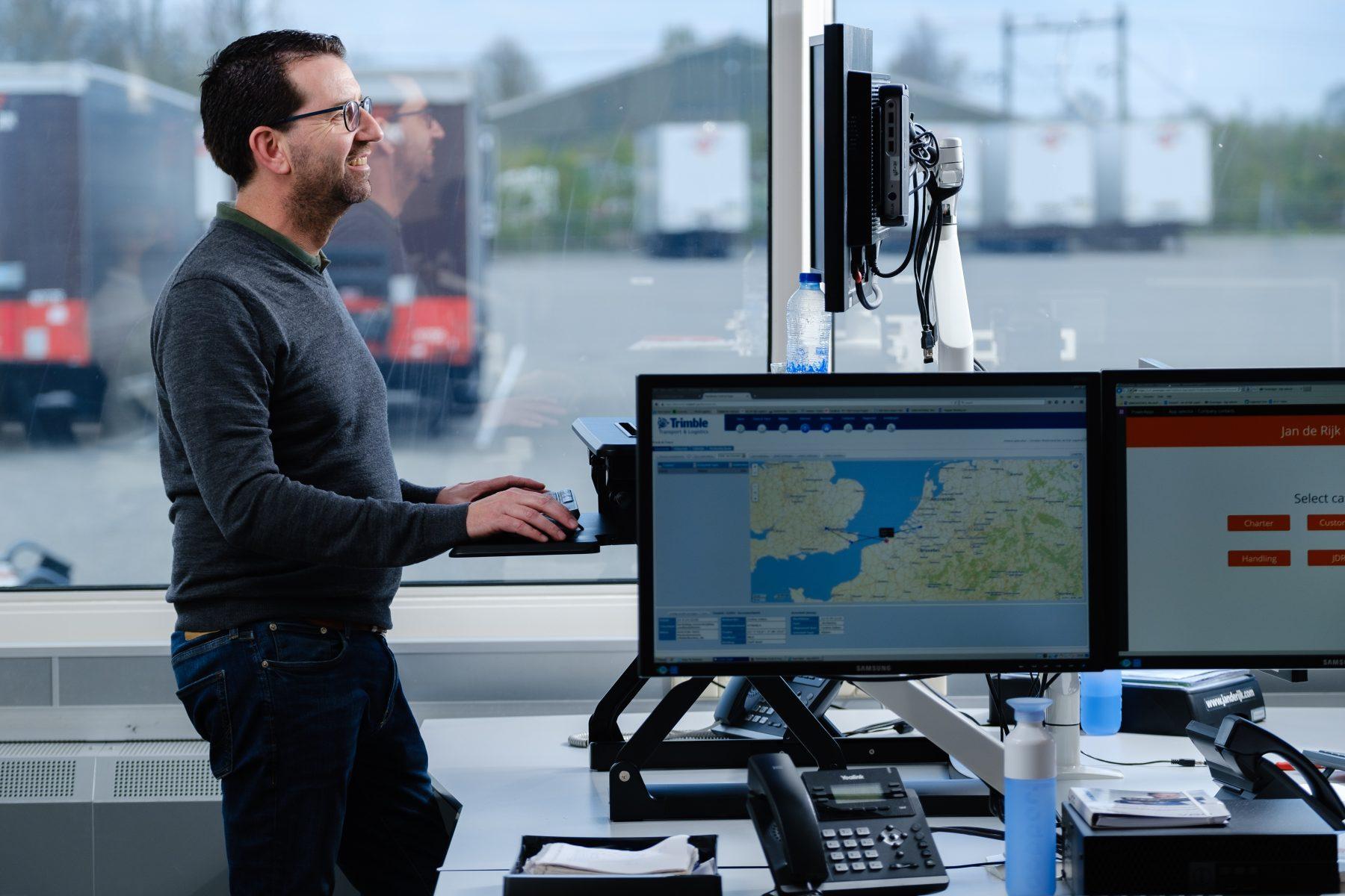 IT systemen bij Jan de Rijk Logistics