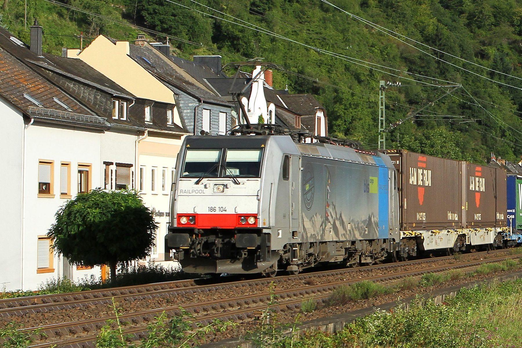Intermodaal transport Jan de Rijk Logistics
