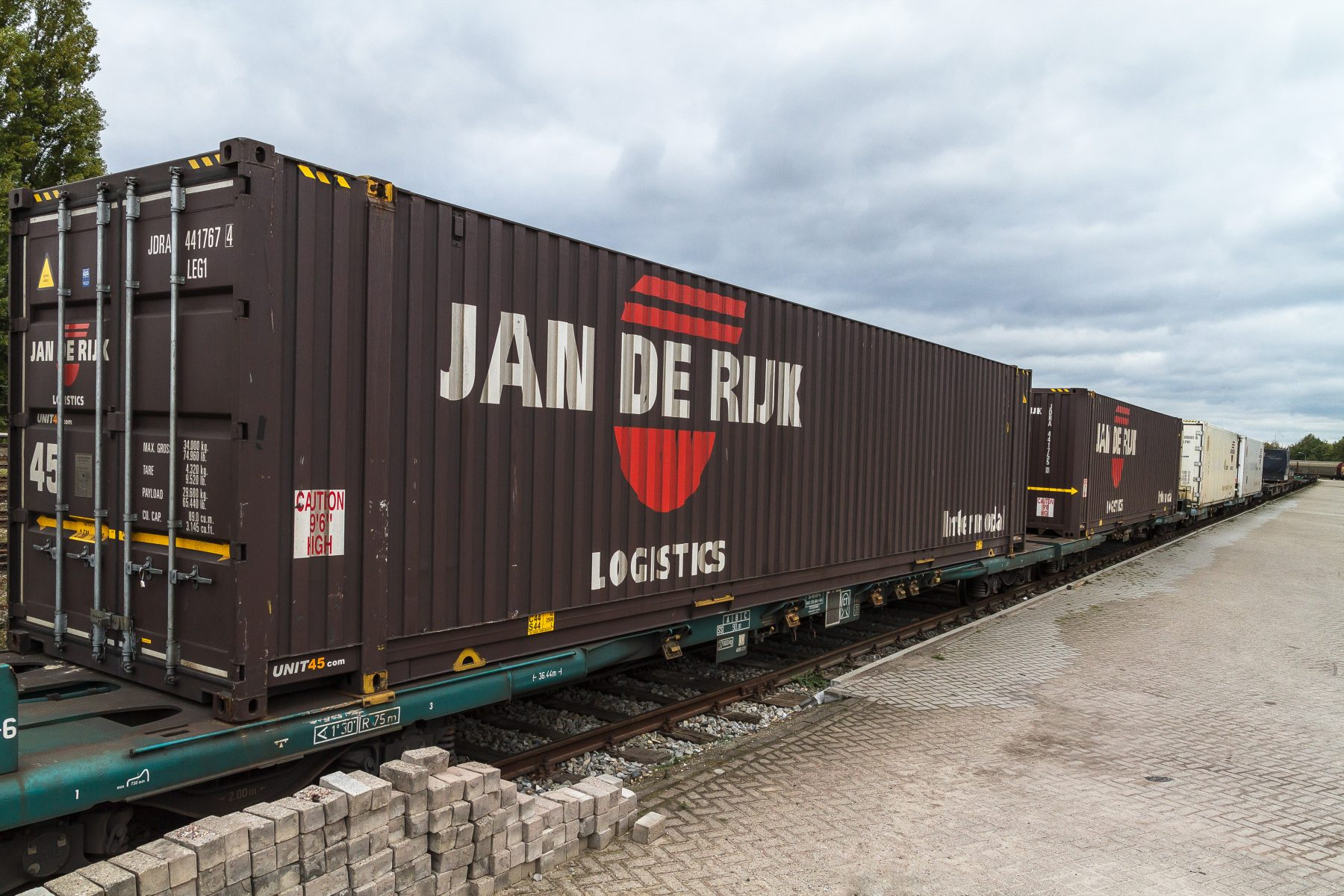 Jan de Rijk Logistics Intermodal Transport