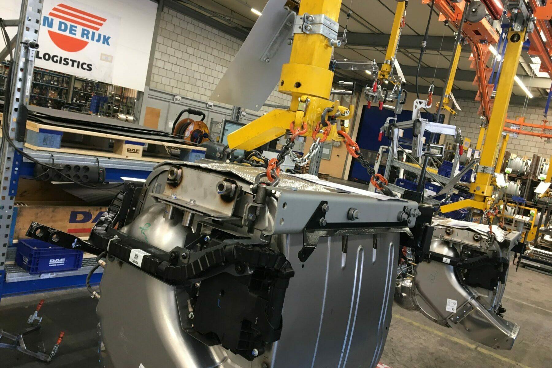 Assembly at Jan de Rijk Automotive Logistics