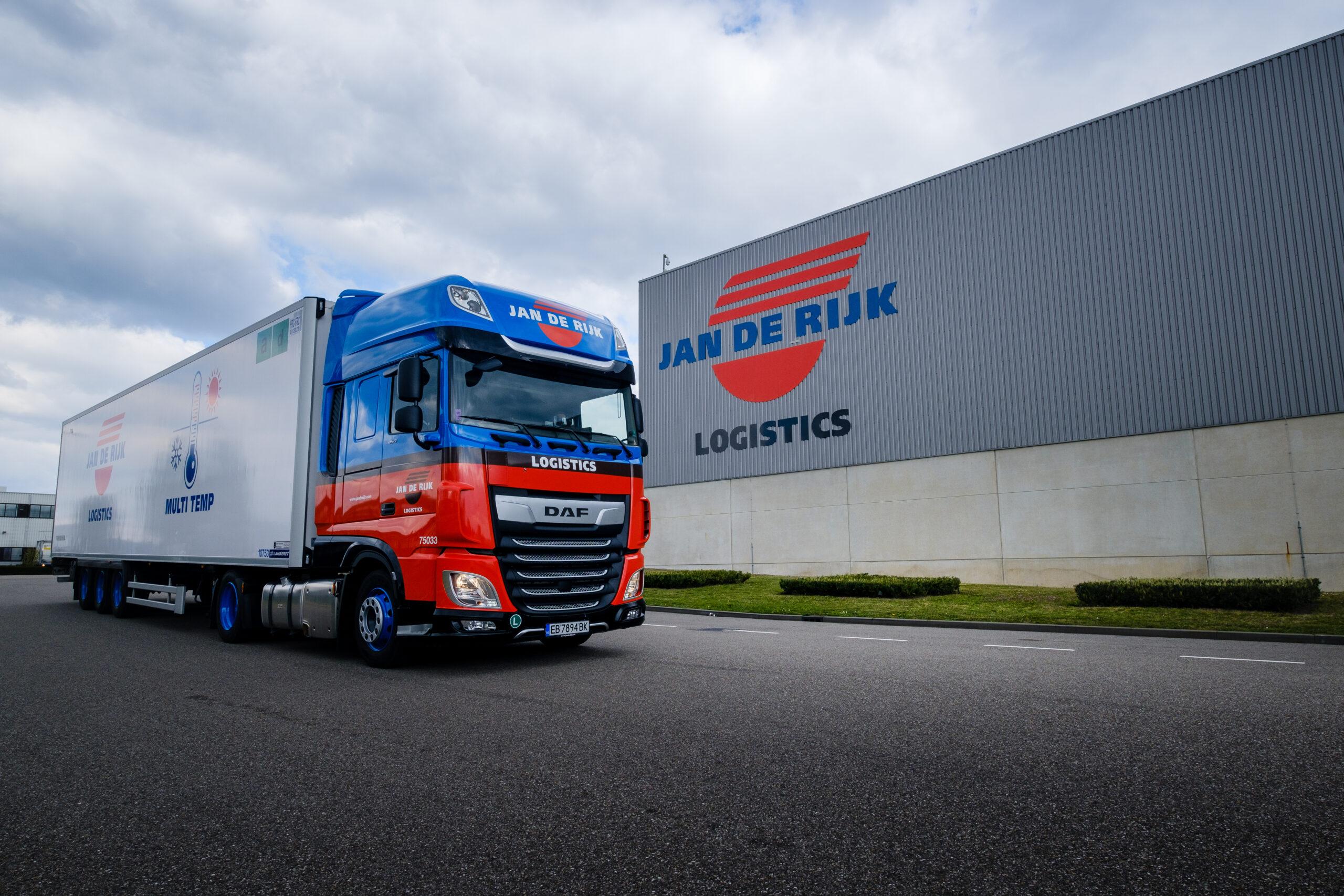 Jan de Rijk Logistics tranport