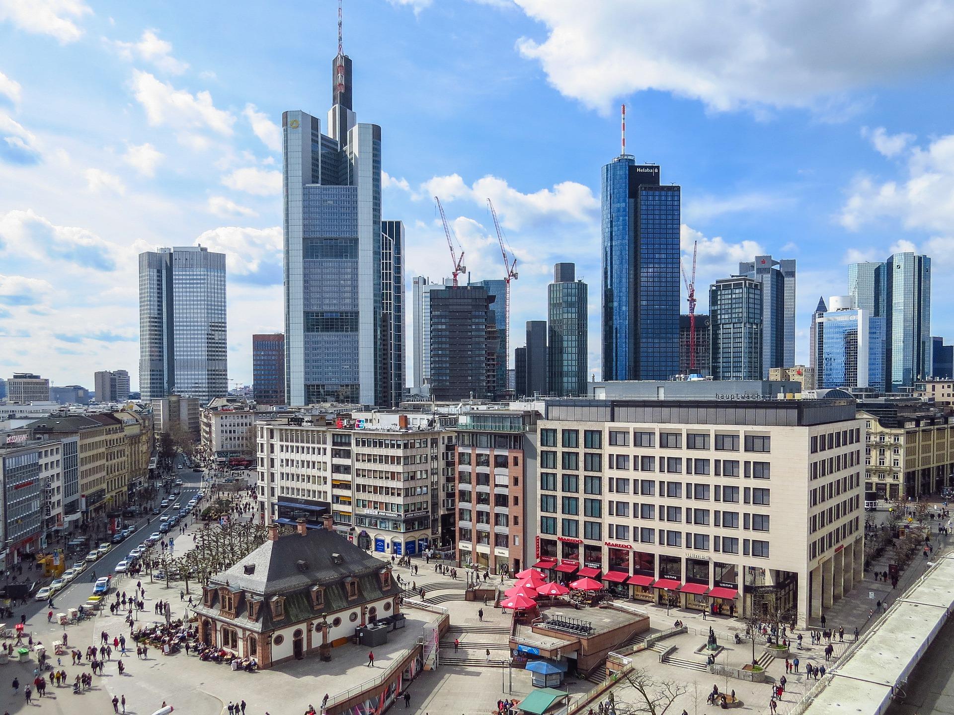 Eigen vestiging in Frankfurt